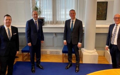Trade NI meets Taoiseach to discuss North-South Economy